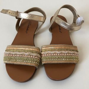 NEW sequence sandals